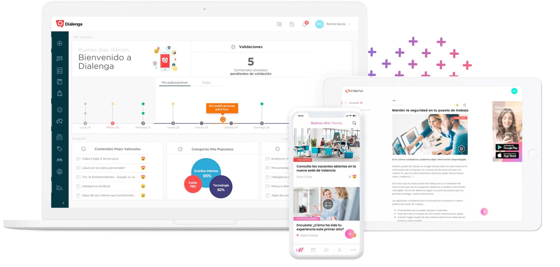Una plataforma diseñada para ti