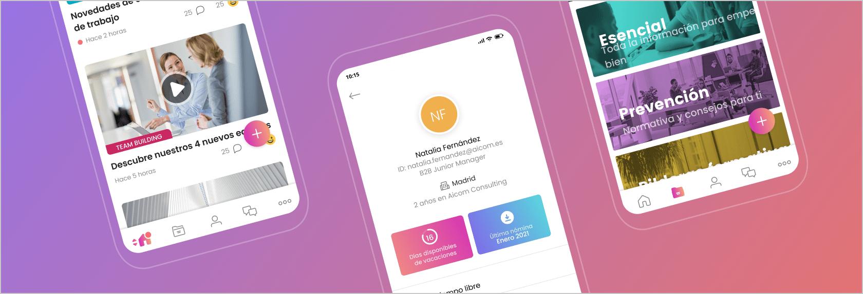 Nuevo diseño app Dialenga